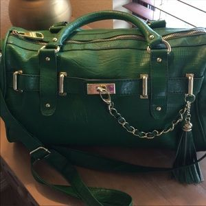 Steve Madden Green Purse